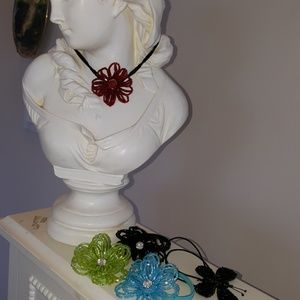 Jewelry - FREE offer NWT Necklace Ponytail Holder Bugle Bead